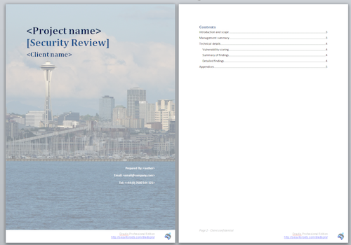 report word template – Word Template Report